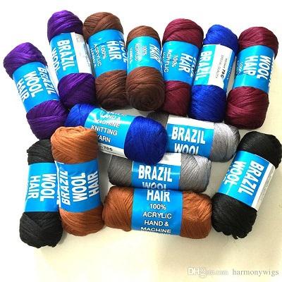 Brazilian Wool Hair For Braiding 70g