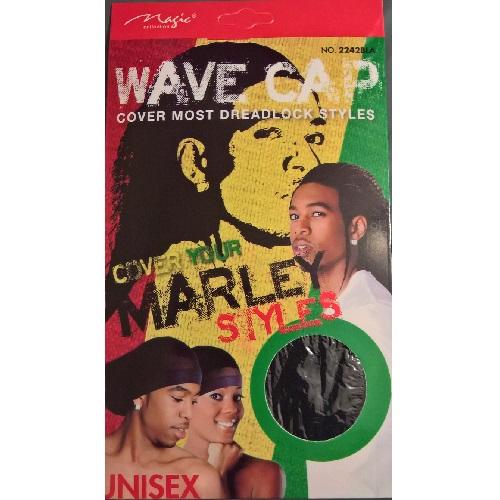 MAGIC DreadLock Styles Wave Cap - Black