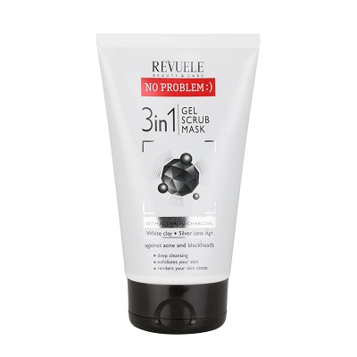 Revuele No Problem 3in1 Gel Scrub Mask 150ml