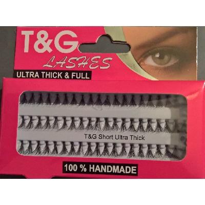 T&G Individual Eyelashes Ultra Full & Thick - Short