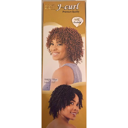 Bella J Curl Crochet Braid 4.5