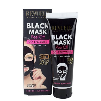 Revuele Black Mask Peel Off Co-Enzymes 80ml