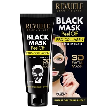 Revuele Black Mask Peel Off Pro-Collagen 80ml