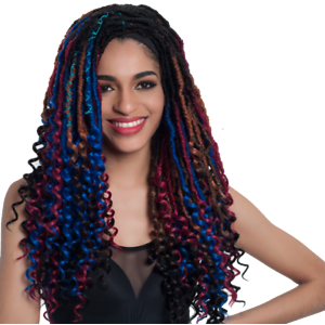 Sleek CRO-CURL LOCS Crochet Braid 20″