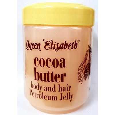 Queen Elizabeth Cocoa Butter Body & Hair Petroleum Jelly 500ml