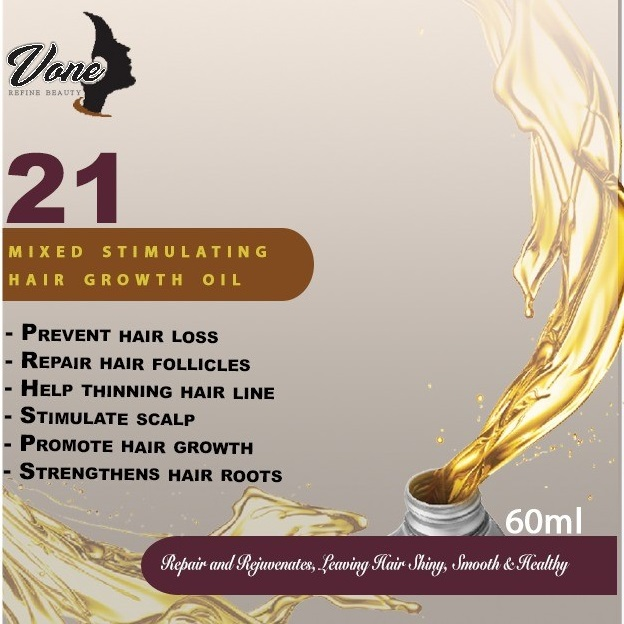 VONE 21 Mixed Stimulating Hair Growth Oil 60ml