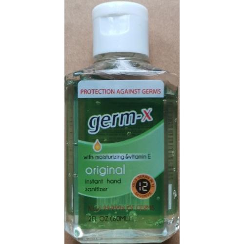 Germ-X Instant Hand Sanitizer 60ml