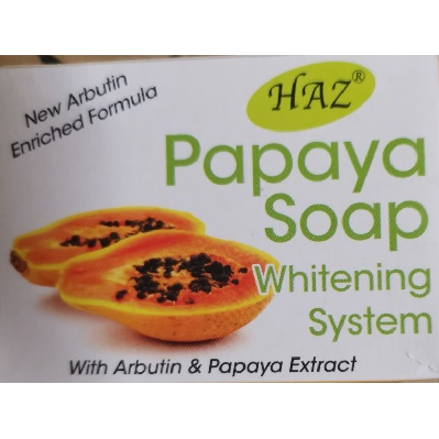 Haz Whitening Papaya Soap 100g