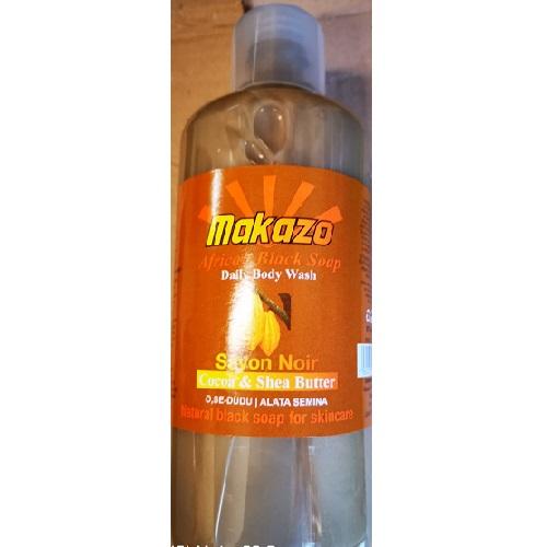 Makazo African Liquid Black Soap - Cocoa & Shea Butter 977ml