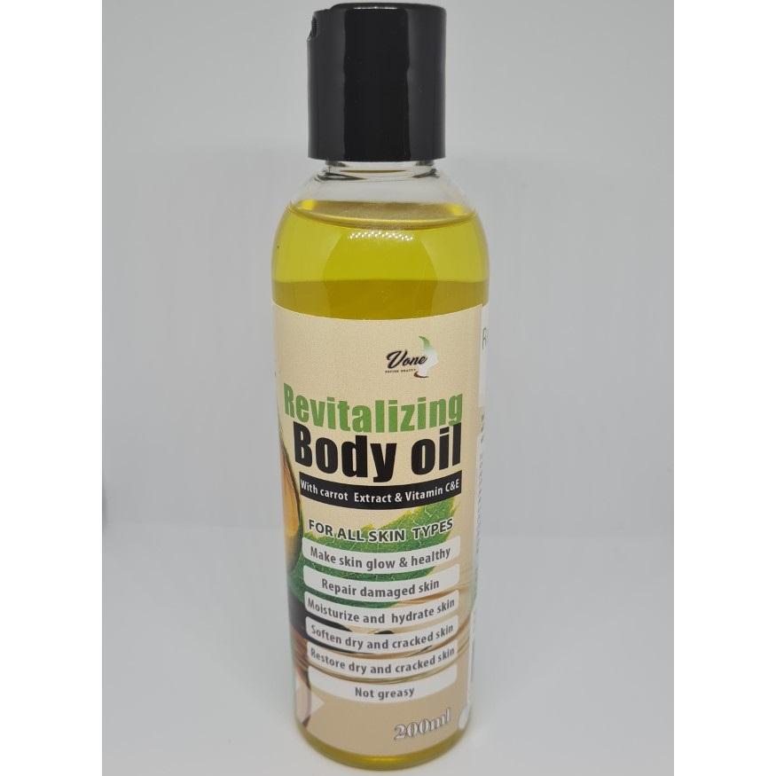 Vone Revitalizing Body Oil 200ml