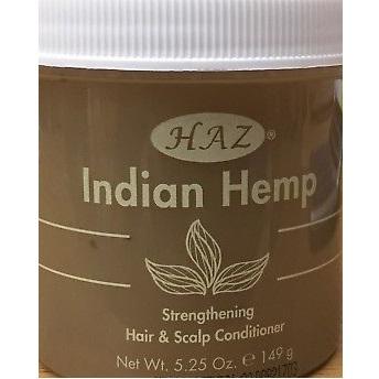 Haz Indian Hemp Strengthening Hair & Scalp Conditioner 149g
