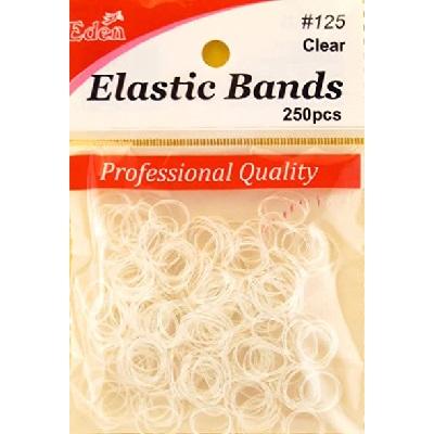 12x T&G Rubber Bands 275pcs - Clear (1 dozen)