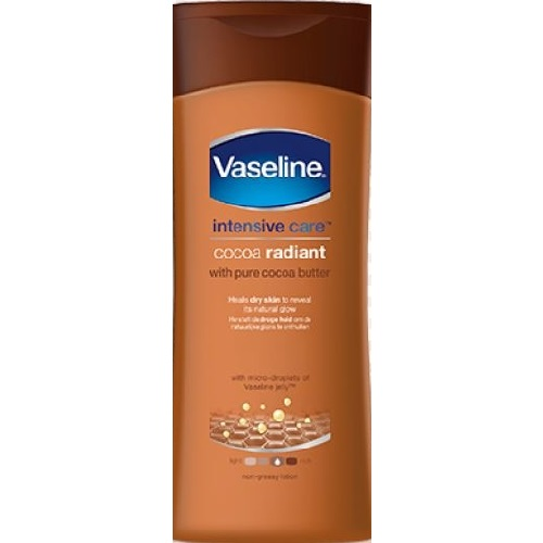 Vaseline Intensive Care Cocoa Butter Radiant Body Lotion 400ml
